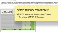 GMROI Inventory Productivity Kit