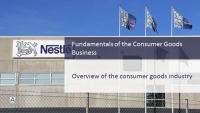 Fundamentals of the Consumer Goods Business