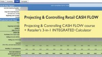 Projecting & Controlling Retail CASH FLOW