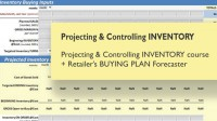 Projecting & Controlling INVENTORY