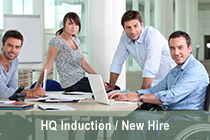 HQ Induction / New Hire